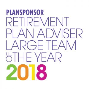 Retirement Plan Adviser Large Team of the Year